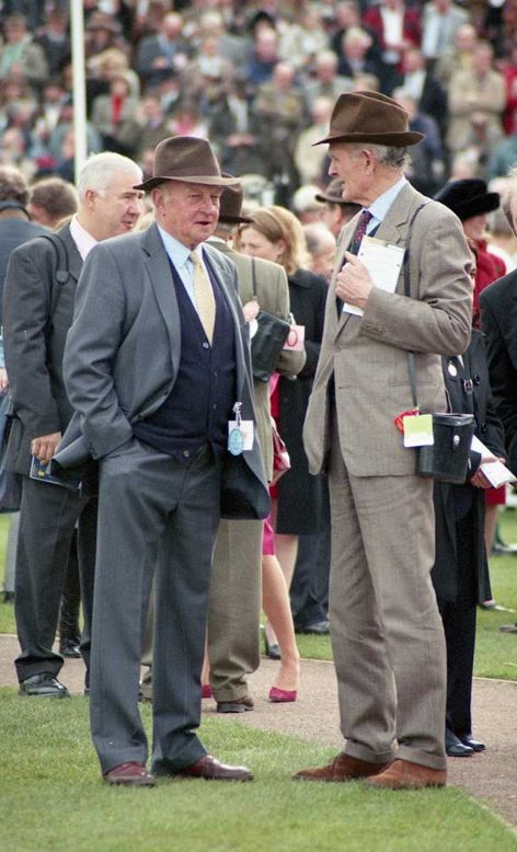 The Trainer Peter Easterby @ Cheltenham 17th March 2004